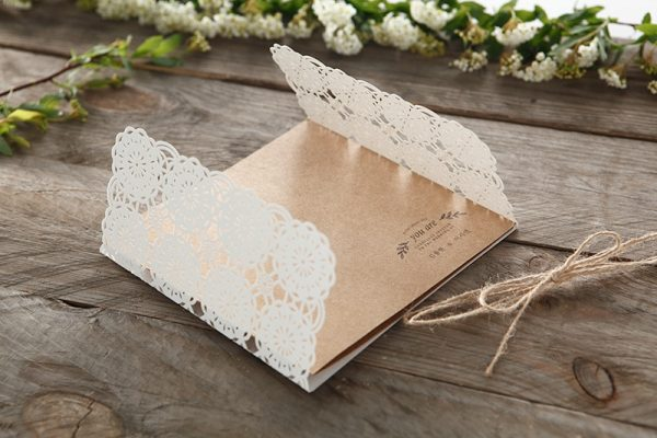 Faire part vintage rustic
