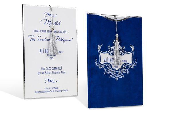 Faire part bleu royal-80913-1