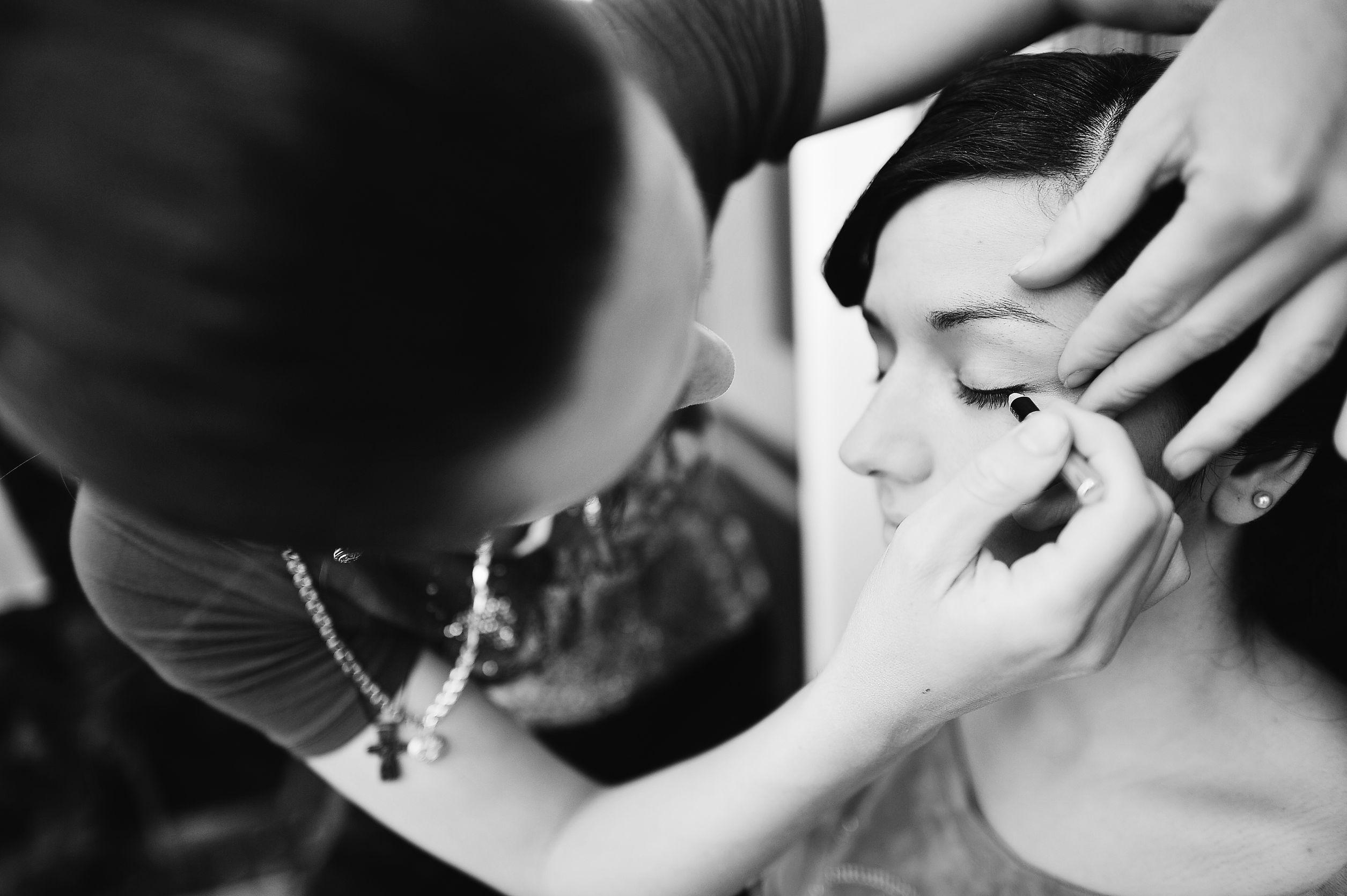 Maquillage de mariage : les cils