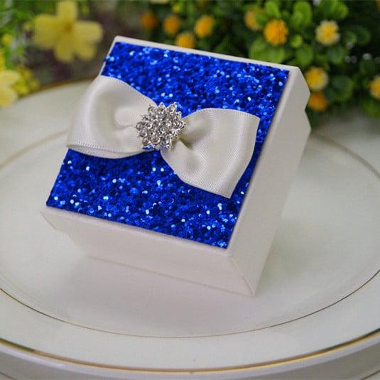 Glitter Bleu roi