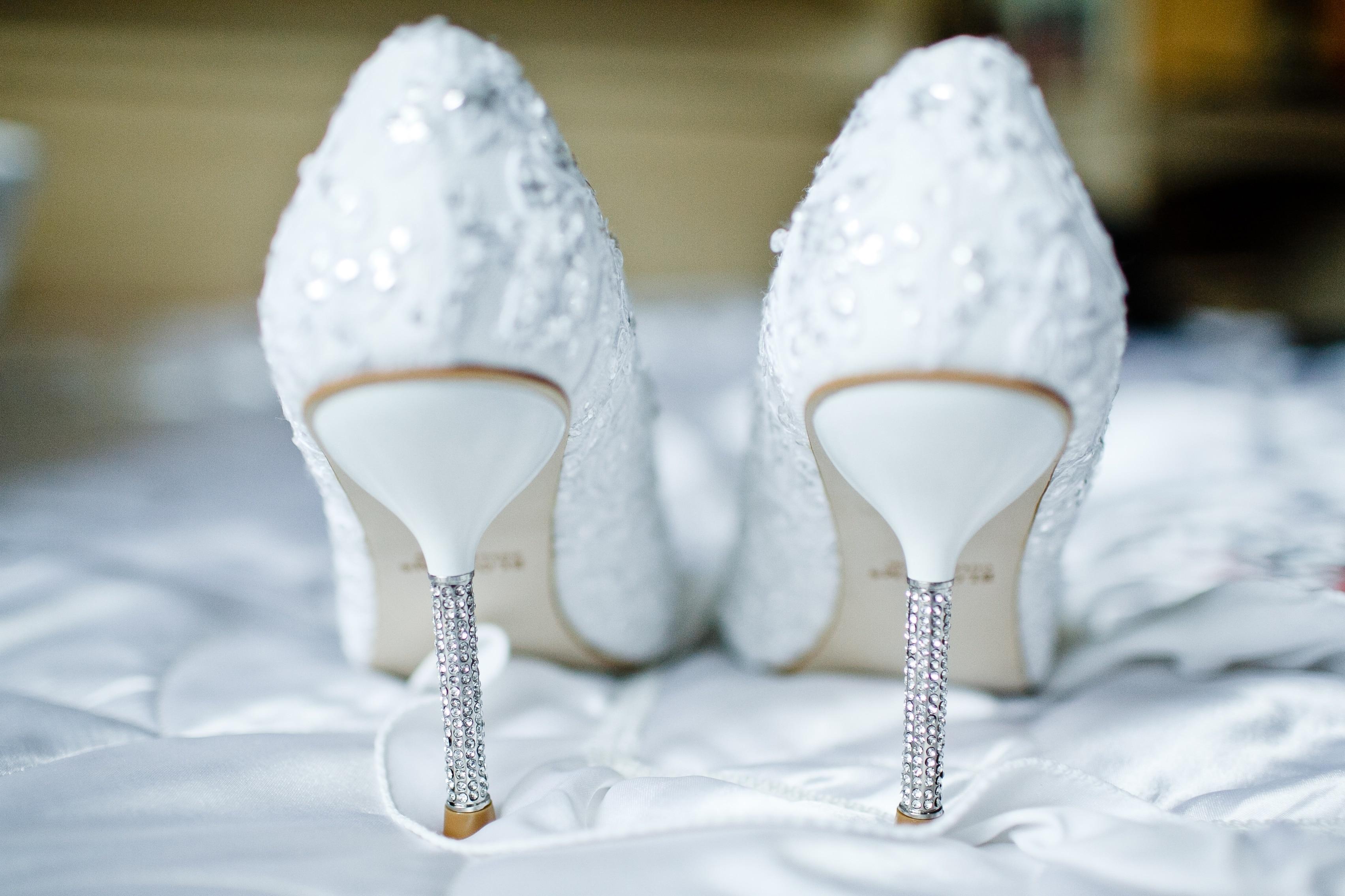 Talons de mariage : du diamant!