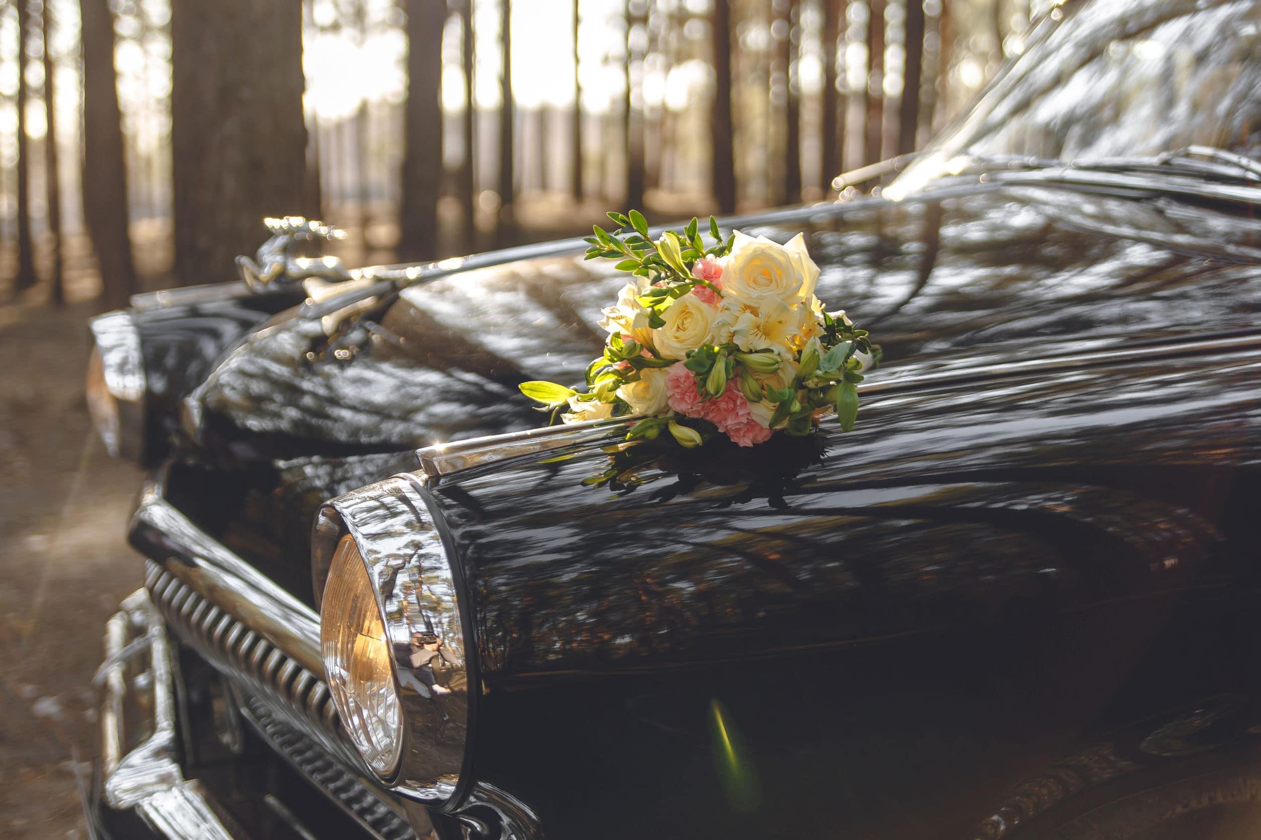 Voiture de mariage originale : une voiture vintage