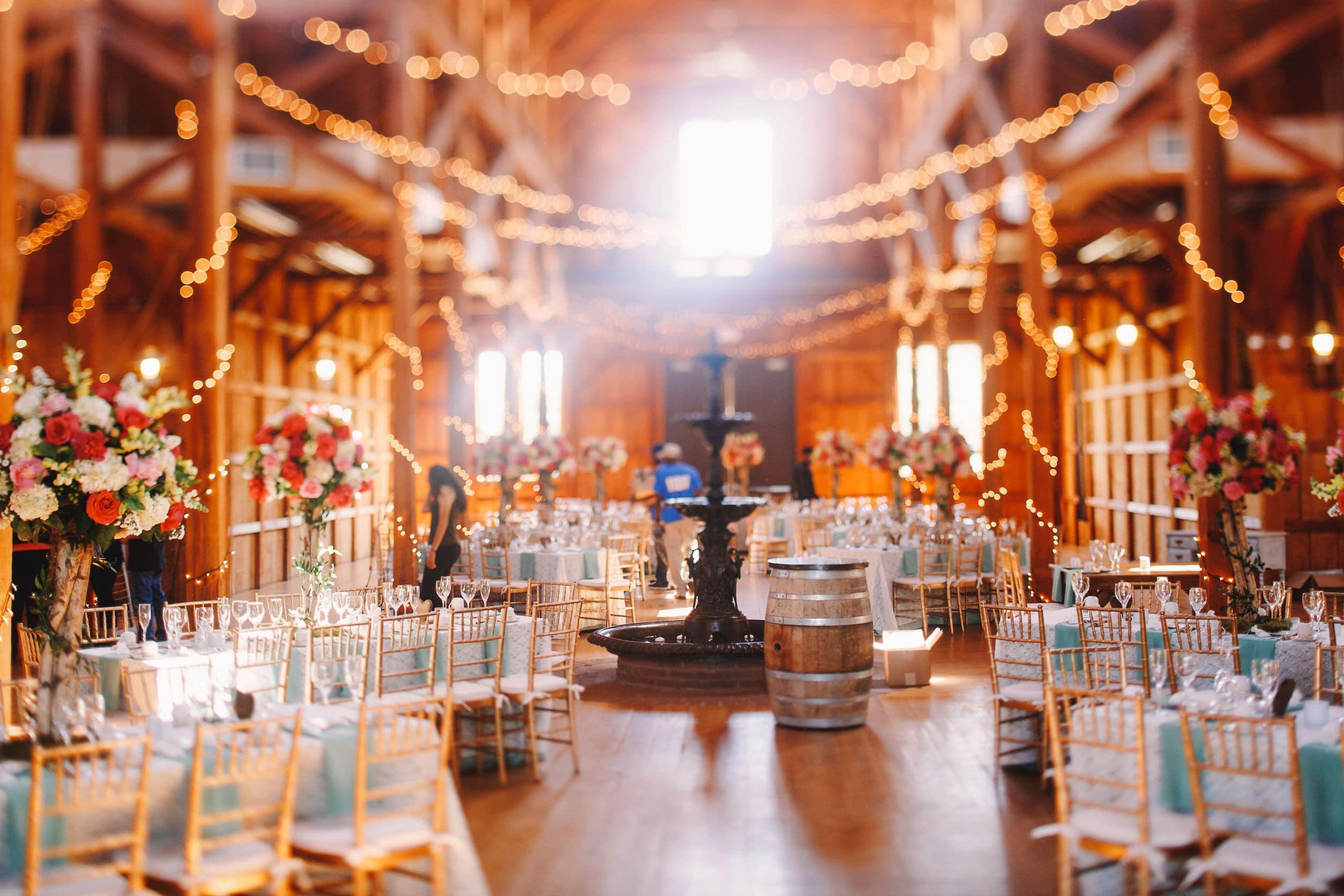 Décoration de la salle de mariage