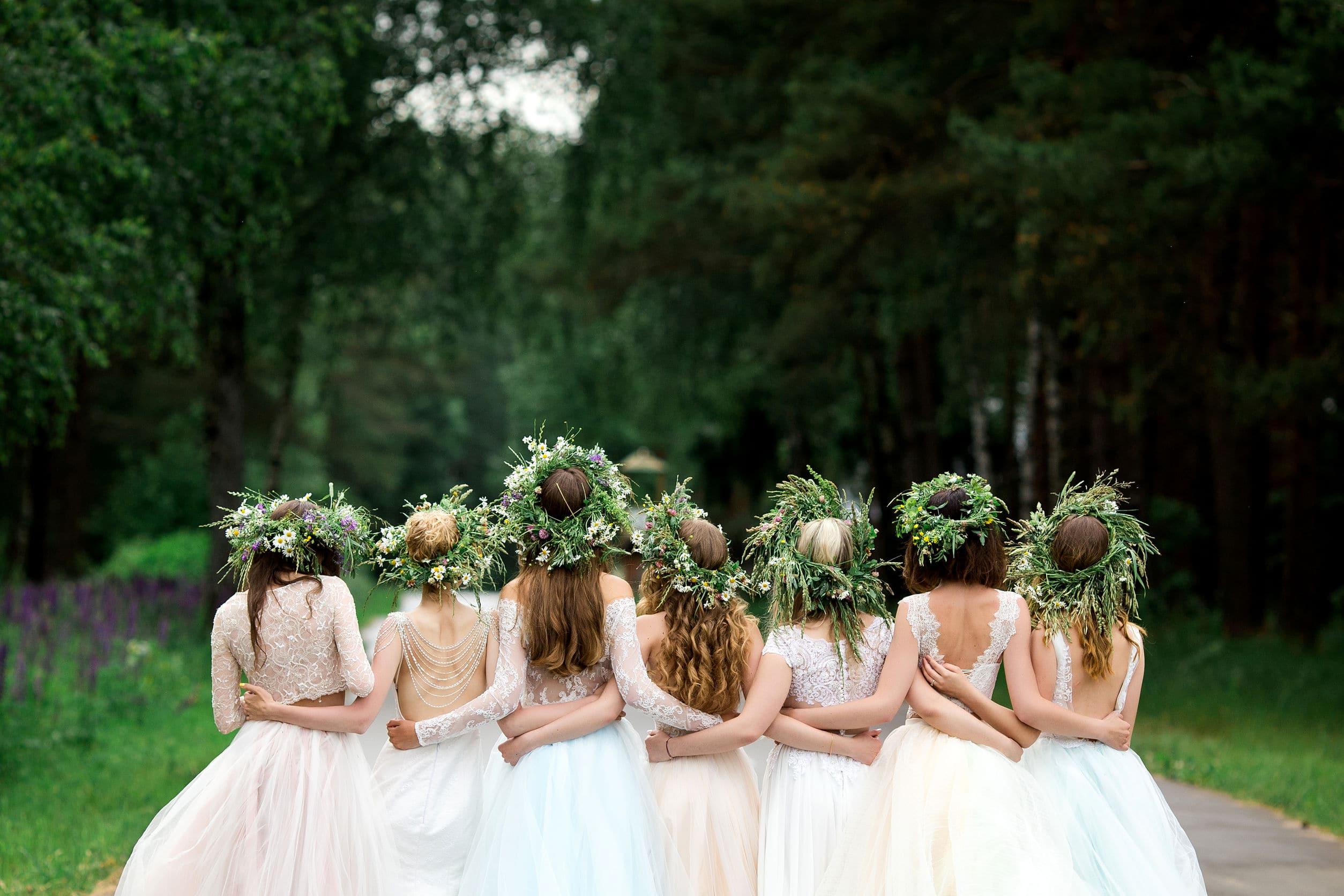 robes pour demoiselles d'honneur : toutes rassemblées