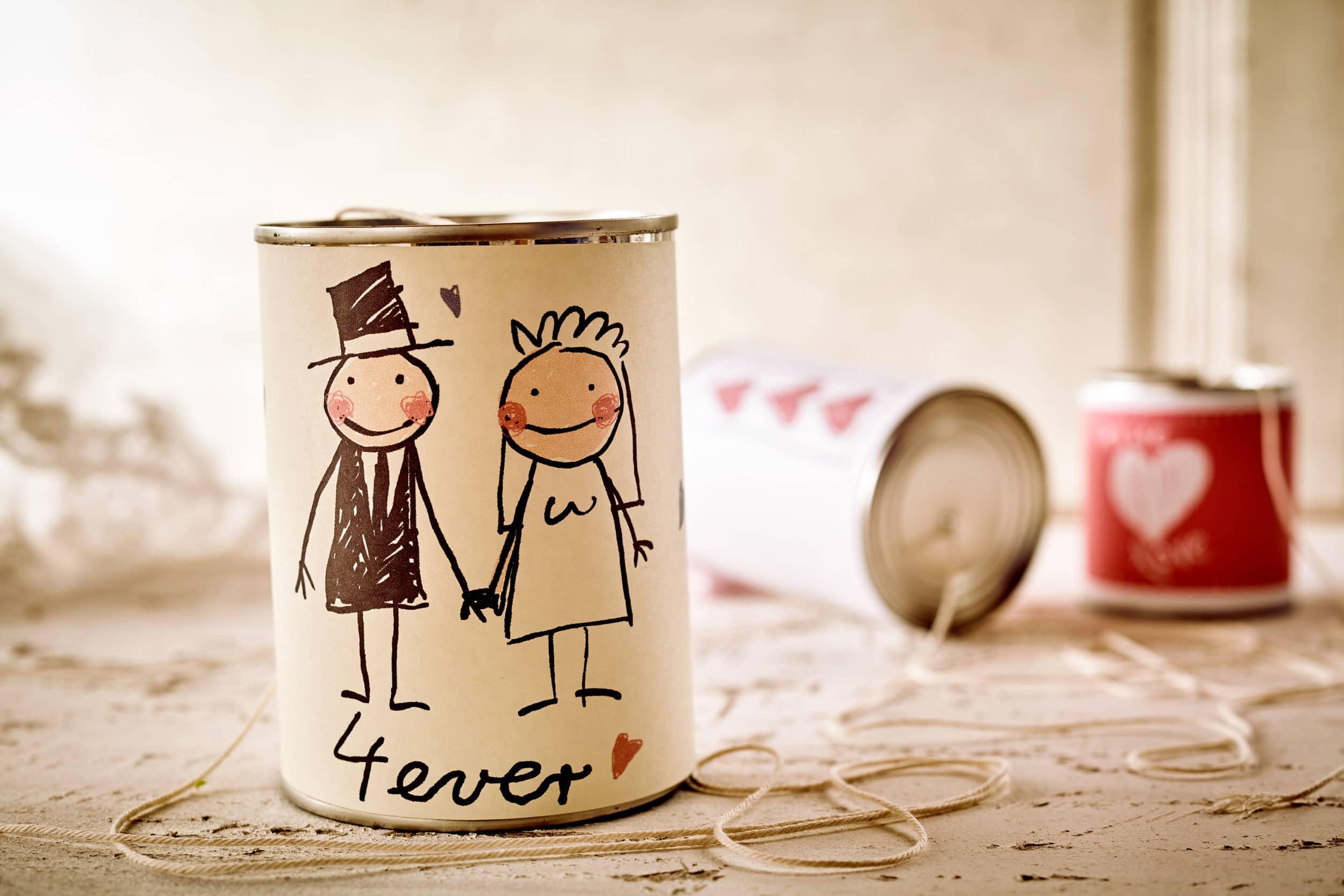 faire part mariage réussi
