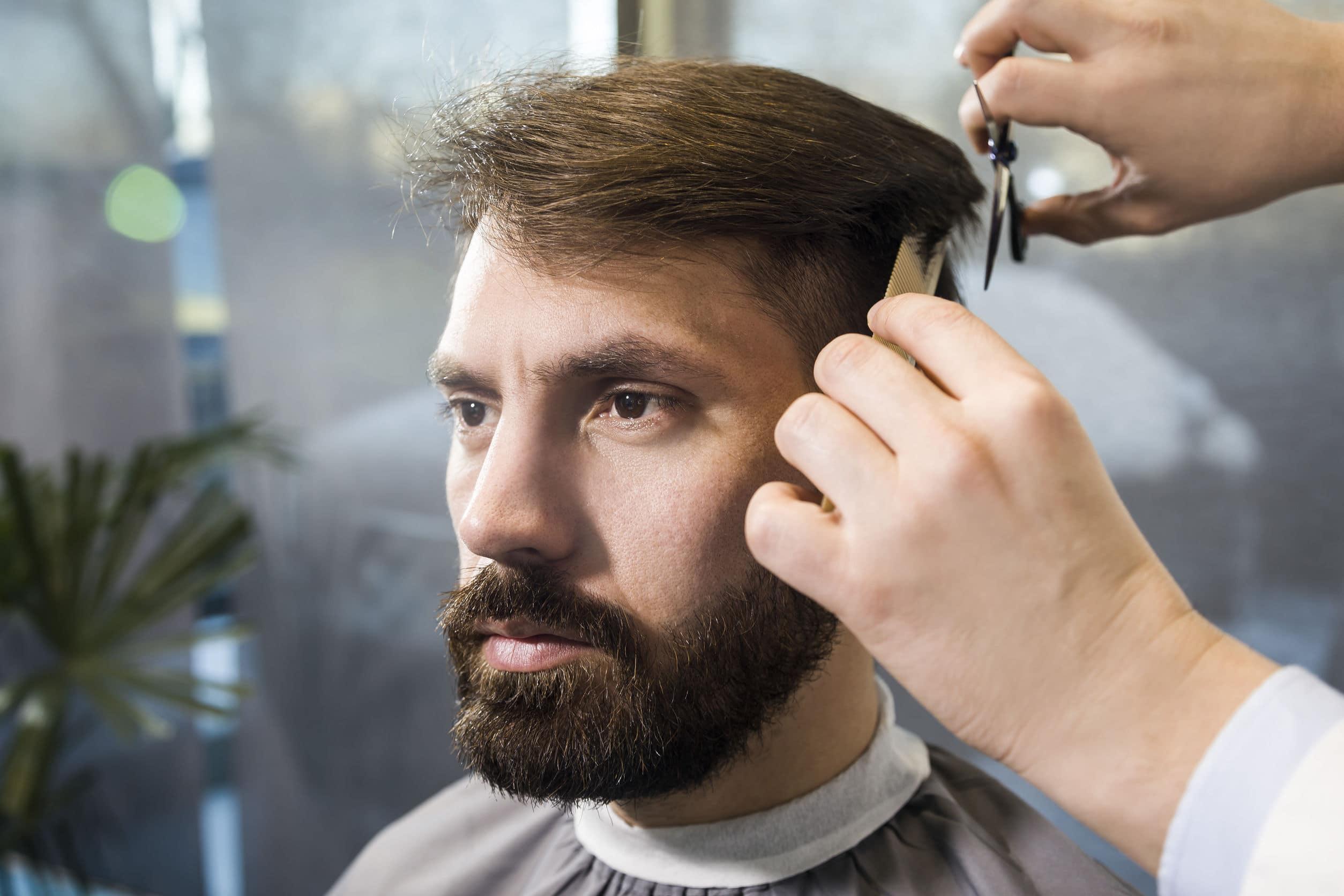 coupe de cheveux du marié