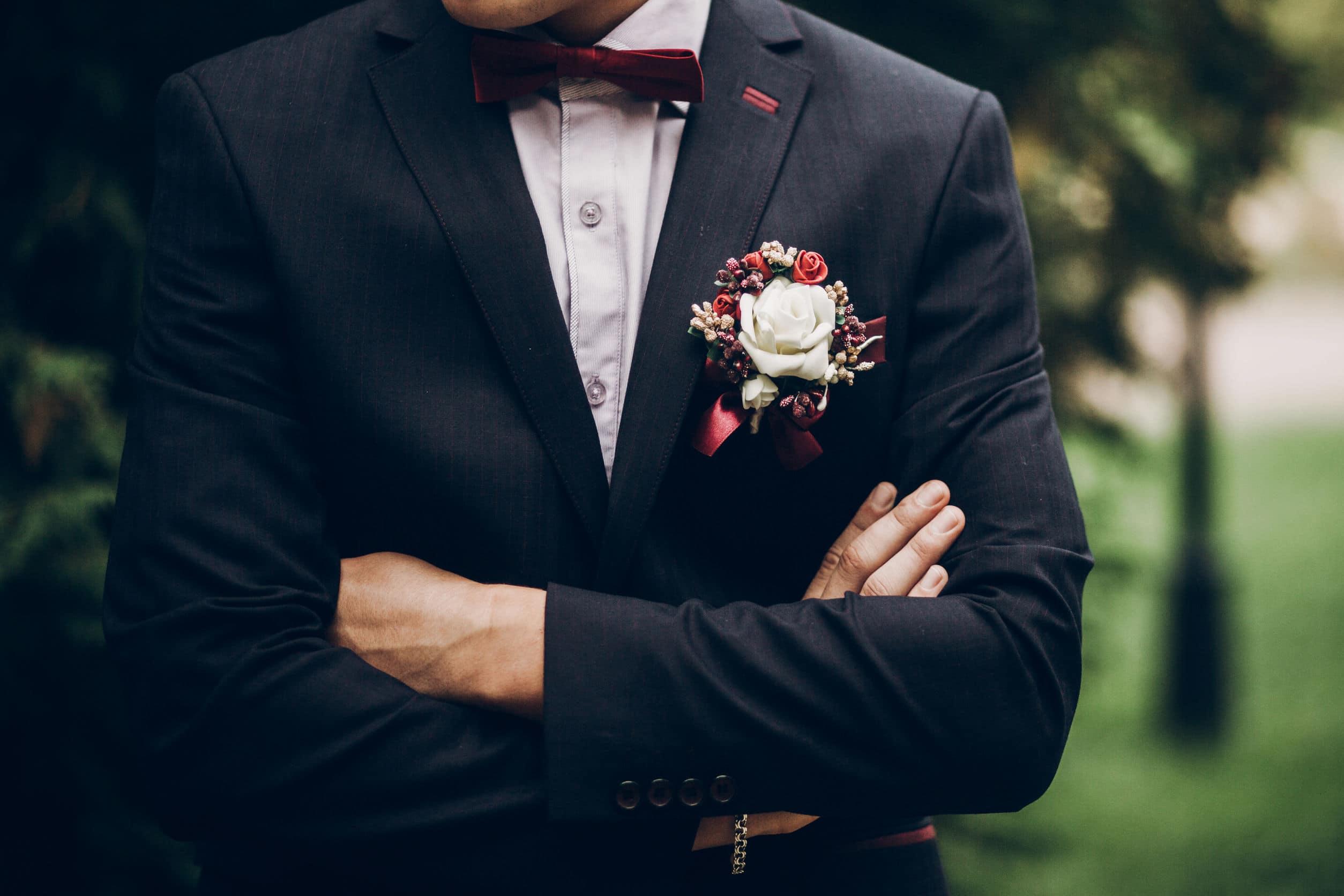 Costume idéal pour le marié
