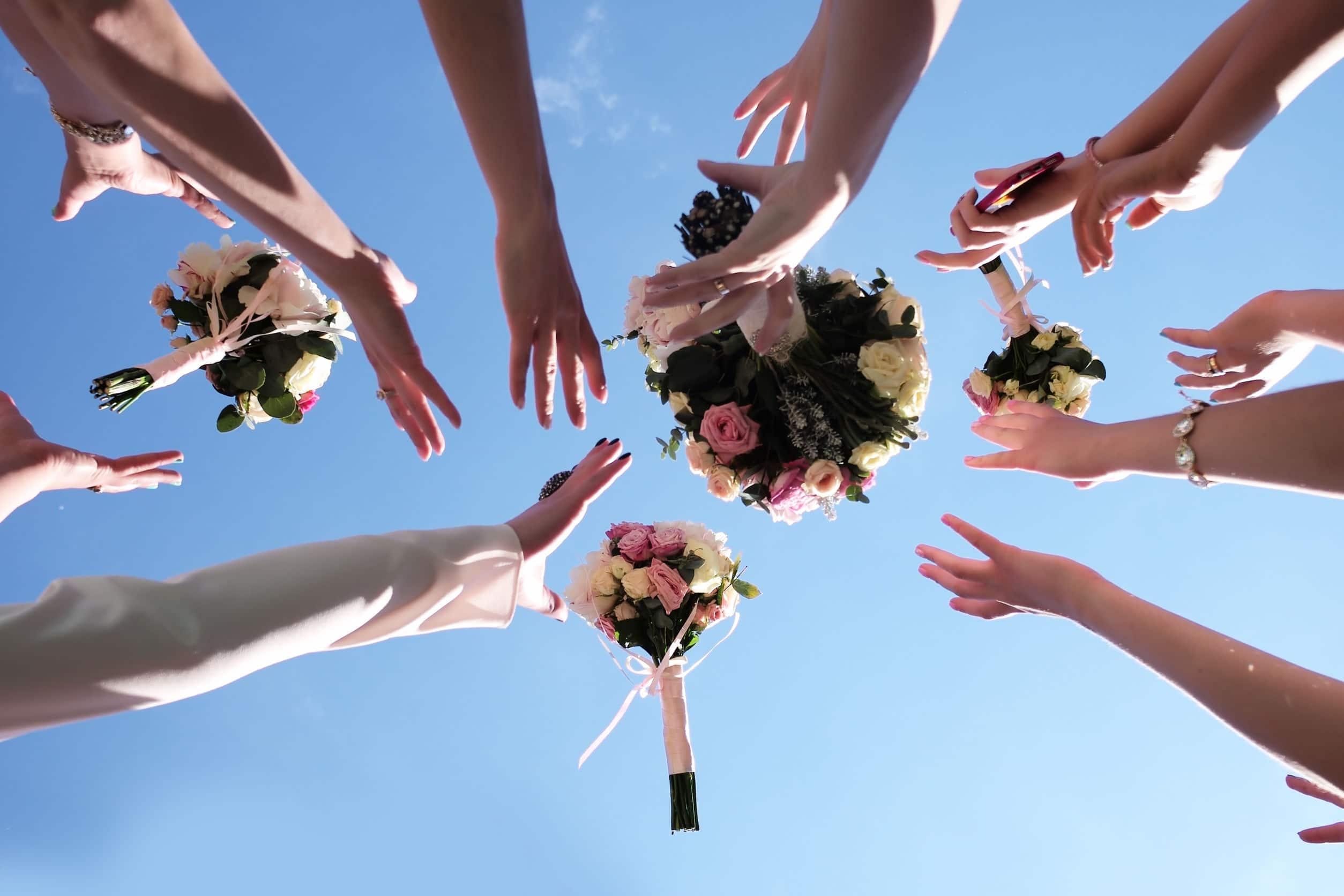 Bouquet de mariage tendance