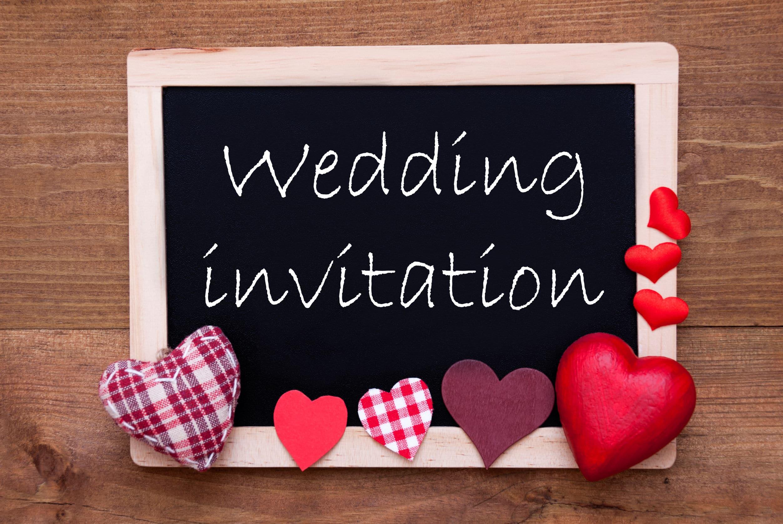 Invitée à un mariage