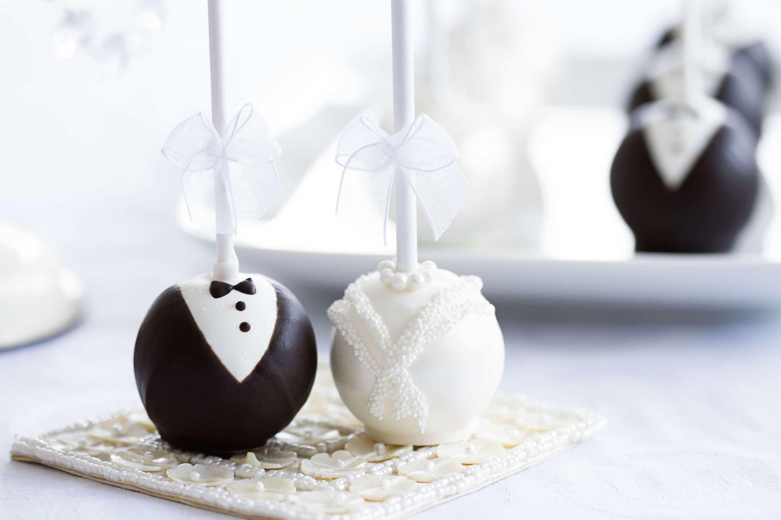 Dessert de mariage original : réjouissant !
